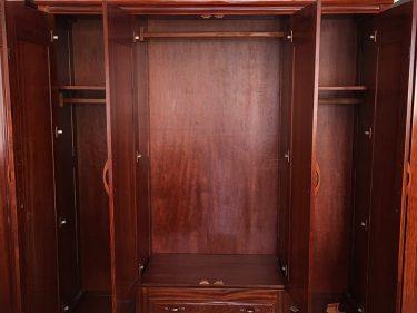 Tủ quần áo 4 cánh xoan đào