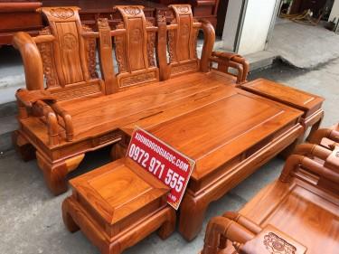 Bộ Tần Thủy Hoàng gỗ gõ đỏ tay cột 12 (anh Hải, Lạng Sơn)