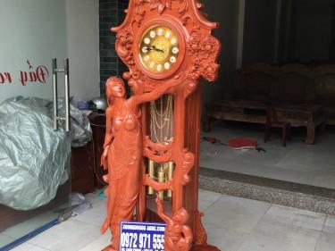 Đồng hồ Cô Tiên Gỗ hương