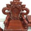 Bộ Minh Quốc Nghê Đỉnh Rồng Khuỳnh tay 12 bộ 12 món gỗ Hương Đỏ Việt Nam