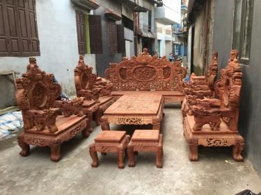 bộ bàn ghế đỉnh rồng
