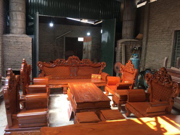 bộ bàn ghế hoàng gia