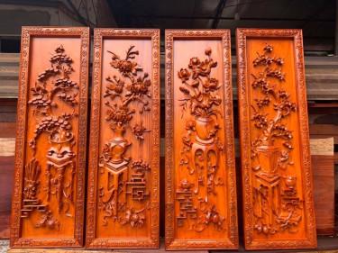 tranh gỗ phong thủy