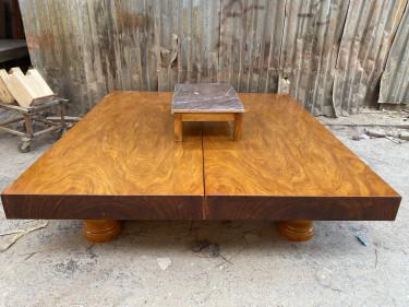 phản gỗ nguyên khối