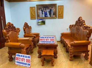 Bộ Hoàng gia V10 kệ tại nhà Chị Phương - Đà Nẵng