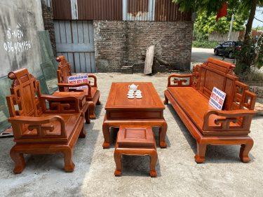 Bàn ghế Sơn Thủy gỗ hương đá